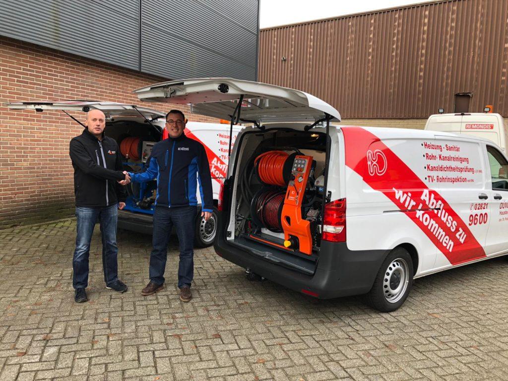 neues Auto 2019 mit Thomas Podboj und Herry van de Vlierd